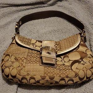 Vintage Coach purse and wallet